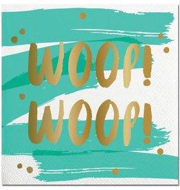 Slant Woop Woop Napkins 20CT