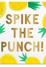Slant Spike the Punch Napkins 20 CT