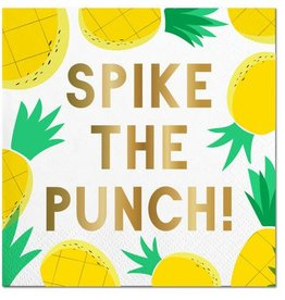 Slant Spike the Punch Napkins 20CT