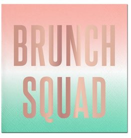 Slant Brunch Squad Napkins 20 CT