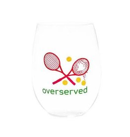 August Morgan Over Served Wine Glasses Set of 4