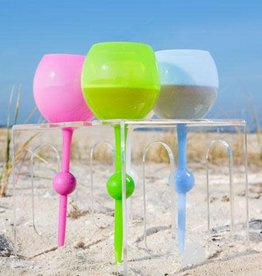 Beach Glass Server
