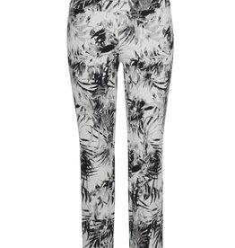 Up Ankle Pant Palm Black