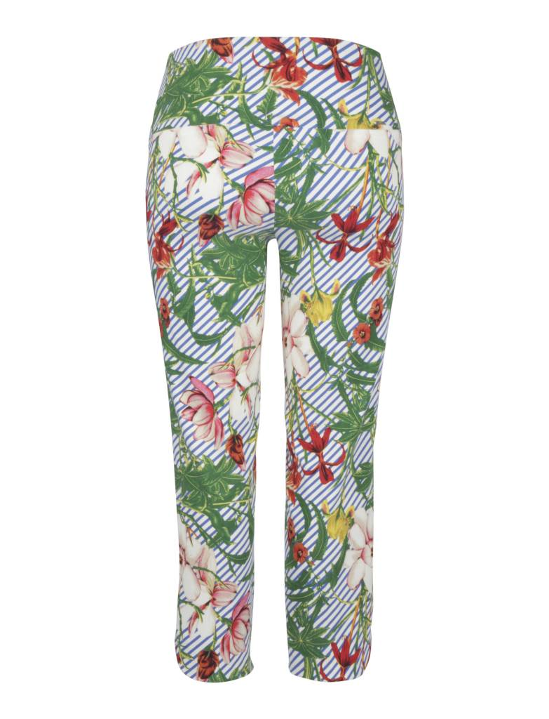 Up Ankle Pant Garden