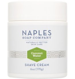 Naples Soap Company Coconut Water Shave Cream