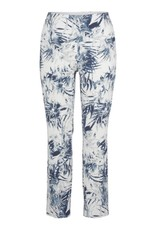 Up Ankle Pant Palm Blue