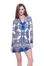 Analili Candice Print Dress