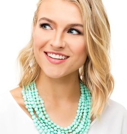 Jewelry Matte Bead Necklace