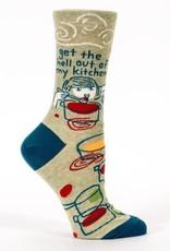 Blue Q Womens Sock Kitchen