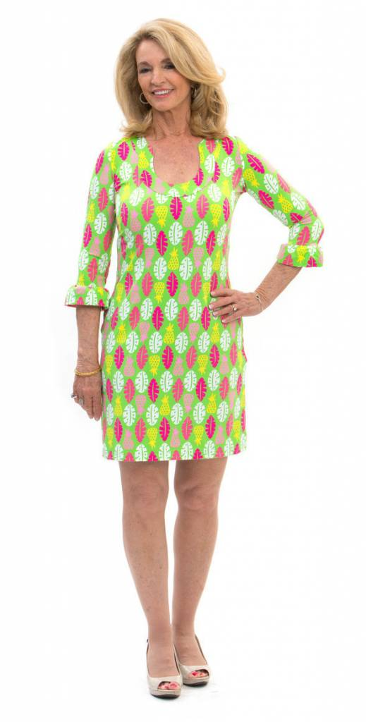 Katherine Way Naples Dress Pineapple