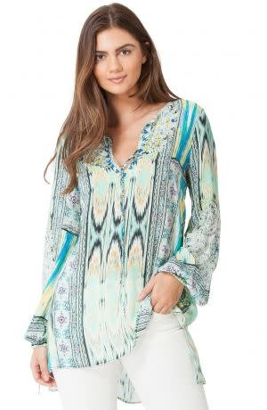 Hale Bob Gwenyth Beaded Top