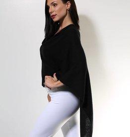 Claudia Nichole Cashmere Topper Ebony