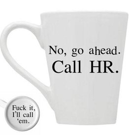 Buffalovely No...Go Ahead Call HR Mug