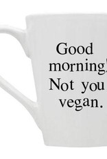 Buffalovely Good Morning Non-Vegans Mug