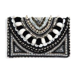 Shiraleah Jezebel Clutch Black