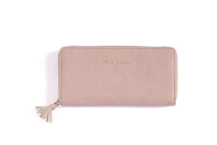 Shiraleah Gigi Retail Therapy Wallet Blush