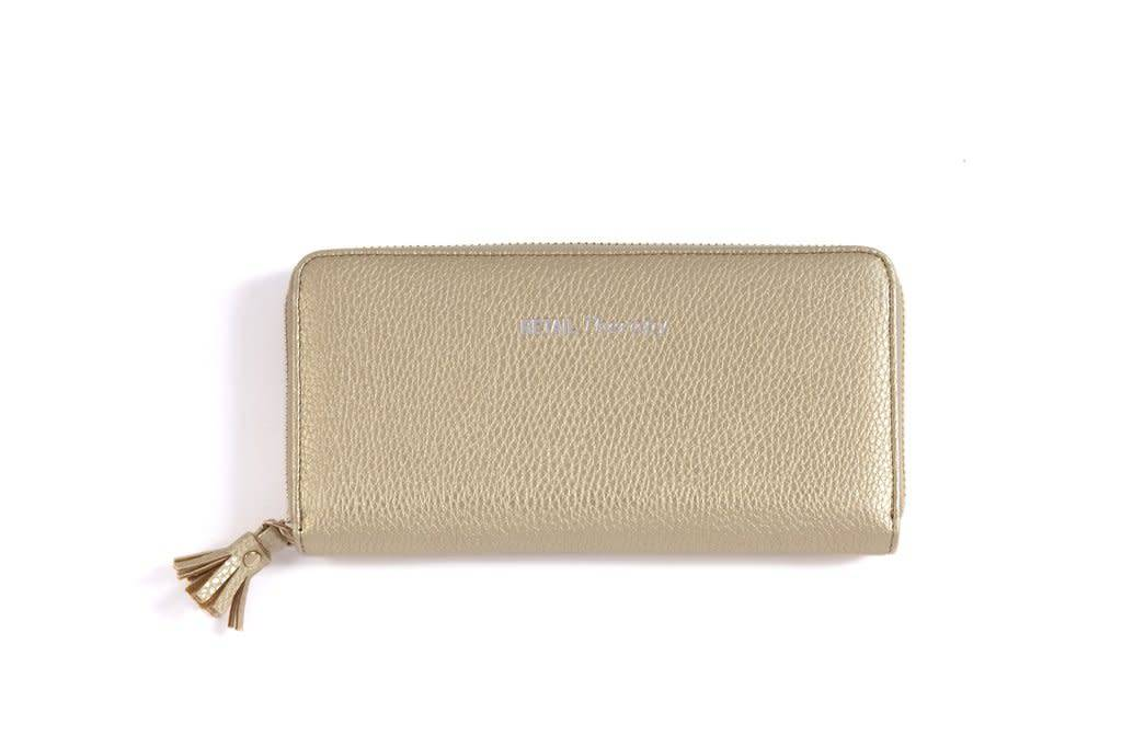 Shiraleah Gigi Retail Therapy Wallet Gold