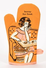 Blue Q HORNY FOR FOOD OVEN MITT
