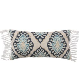 Levtex Medallion Fringe Pillow
