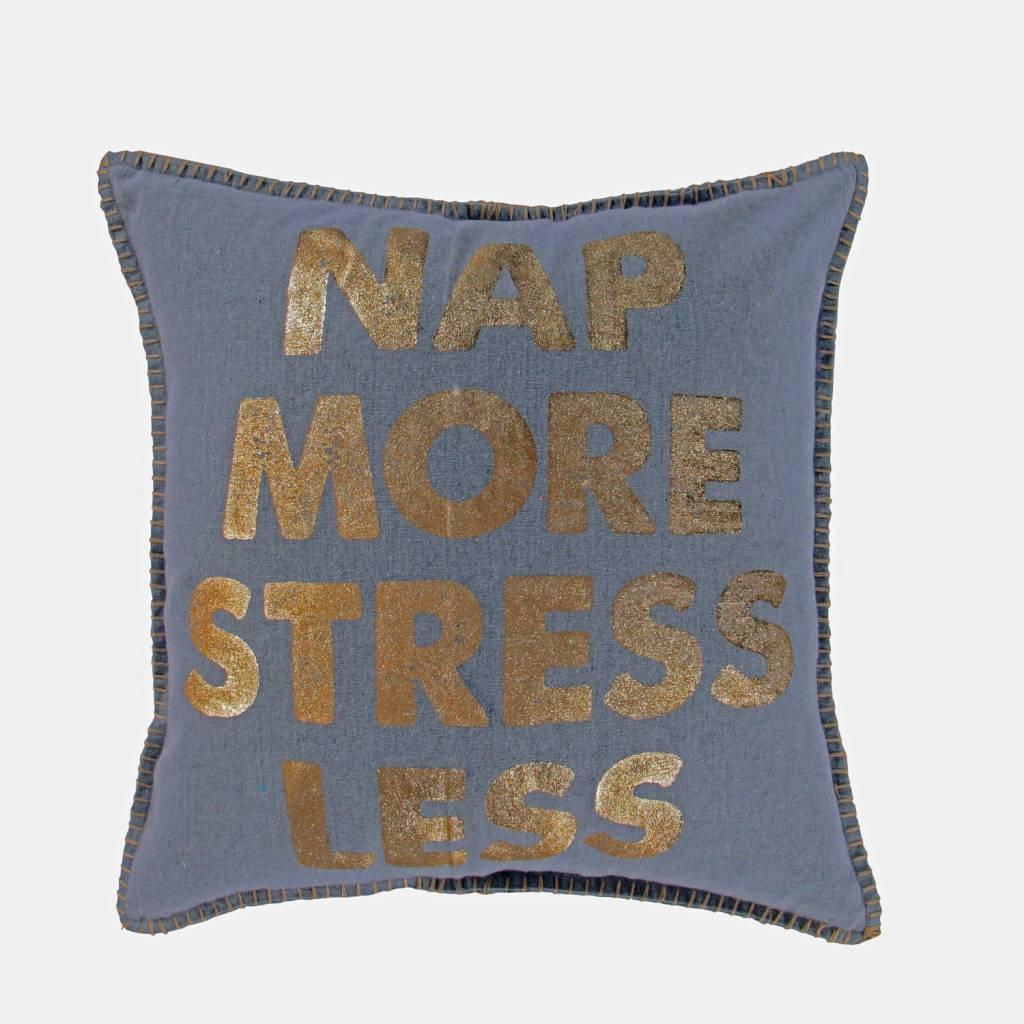 Levtex Nap More Stress Less Pillow