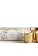 Illume Mini Trio Winter White Candles