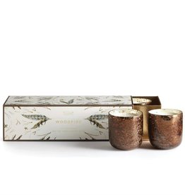 Illume Mini Trio Woodfire Candles