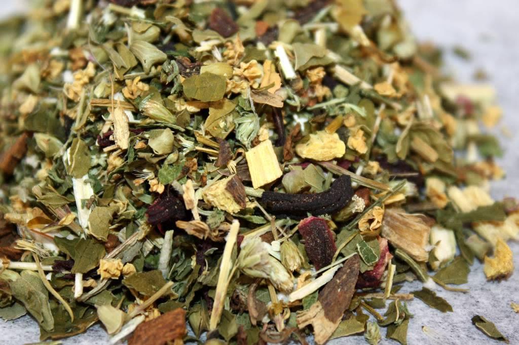 Cold + Flu Herbal Tea