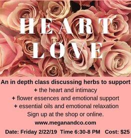 Herbal Love Class, 2/22/19