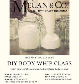 DIY Body Whips, 3/15/19, Class
