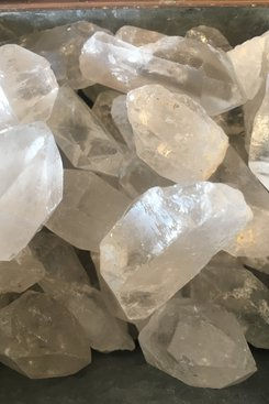Crystal Quartz, Raw