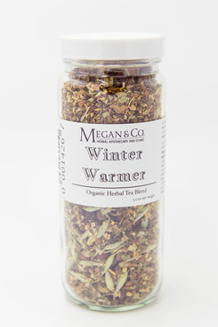 Winter Warmer Organic Herbal Tea Blend