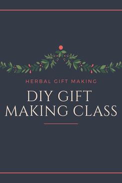 DIY Gift Making Class, 11.15.19