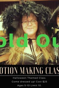 Potion Making Class, 10.18.19