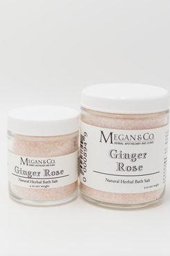 Ginger Rose Bath Salt