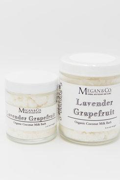 Lavender Grapefruit Milk Bath (Dairy Free)