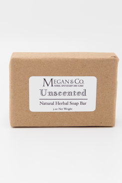 Unscented Herbal Soap Bar
