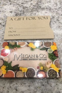 MEGAN & CO. Gift Card