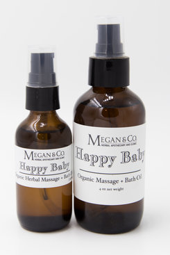 Happy Baby Massage + Bath Oil