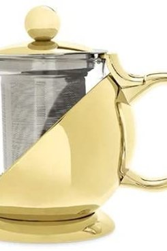 Gold Wrapped Teapot + Infuser
