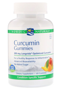 Curcumin, Gummies, Supplements