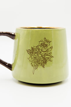 MEGAN & CO. Rose Sage MUG