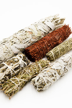 Assorted Smudge Sticks, 4 inch