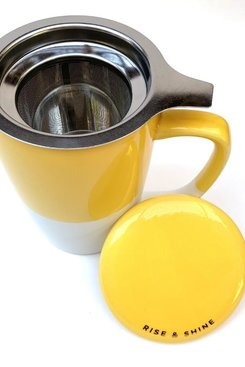Ceramic Mug + Infuser