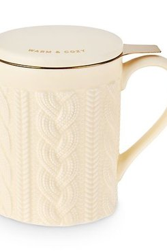 Knit Ceramic Infuser + Mug