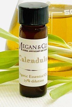 Calendula Essential Oil, 25% Dilution.