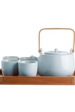 7 Piece Tea Set, Serenity