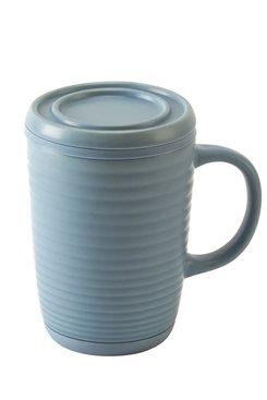 Blue Ripple, Tea Infuser Mug 16 oz