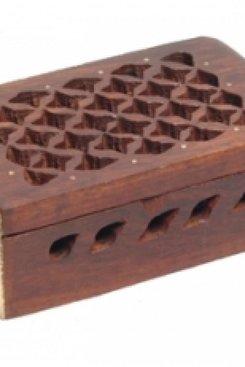 Wooden Resin/ Ring Box