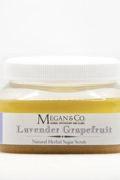 Lavender Grapefruit Sugar Scrub