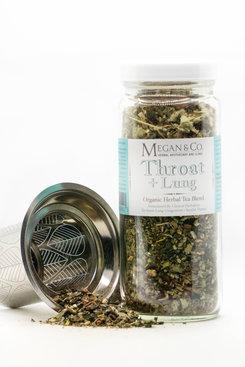 Throat + Lung Organic Herbal Tea Blend